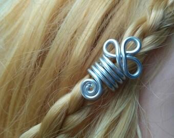 Dreadlocks 2 Hair Bead Hair Accessories Hair Jewelry Viking Jewelry Viking Beads Beard jewelry Viking jewelry  Viking hair beads Beard beads