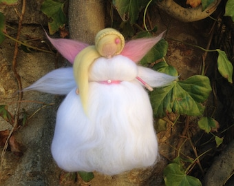 White Fairy of First communion or baptism