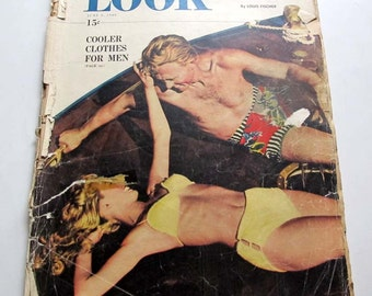 Look Magazine June 8 1948 Summer Vintage Periodical