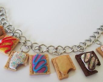 Pop Tart Charm Bracelet