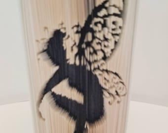 Tinkerbell - Folded Book Art