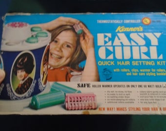 Kenner's 1968 Boxed Easy Curl Set