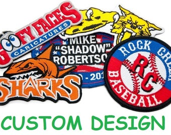 CUSTOM Wholesale Custom Patch Embroidered Patch Custom Embroidered Patch w/ FREE Shipping