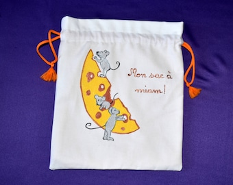 Bag for pluchies or bag for snack