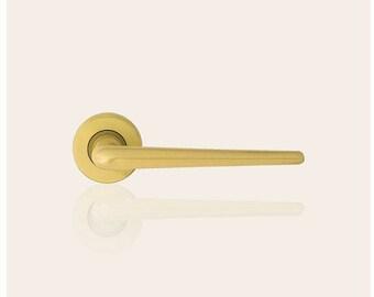 Brixia - Classic Brass Door Handles