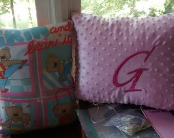 Memory keepsake heirloom pillow from clothing/ties/suits/your personal items