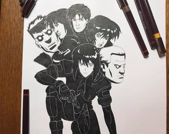 """Ghost in the Shell """"Motoko and Co"""""""