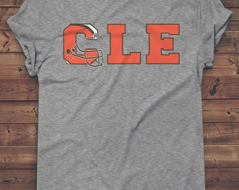 Cleveland Browns Inspired T-shirt | Browns | Cleveland Pride | CLE | Go Browns | Cleveland Football | Ohio Pride | Cleveland | Dawg Pound