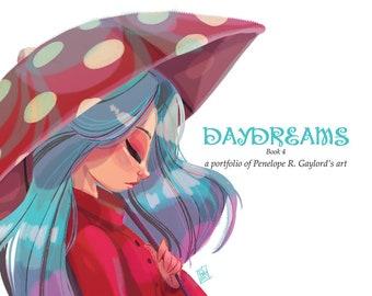 DAYDREAMS Book 4 - mini art portfolio book