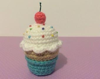 CROCHET PATTERN for Yummy Cupcake Soft Sculpture