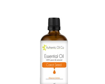 carrot Seed Essential Oil 100% Pure 10ml 50ml 100ml