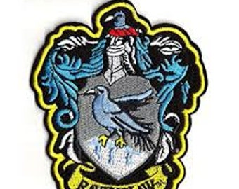 Ravenclaw Crest shield logo Jacket Patch iron on sew on Embroidery badge / patch