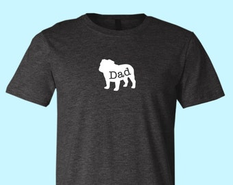 """Bulldog """"DAD"""", Unisex SHIRT"""
