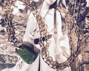 Genuine Jade Vintage Necklace