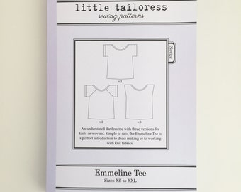 Little Tailoress Emmeline Tee Pattern