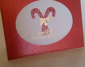 Sweetest Holiday Wishes Christmas Card