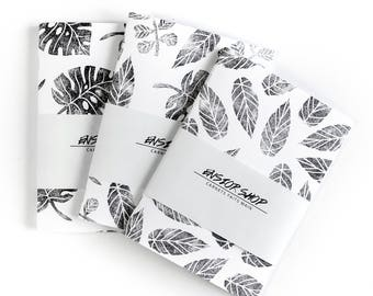 Set of 3 notebooks - covers prints