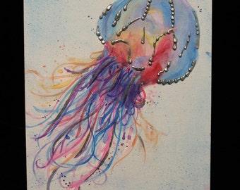 Jellyfish Painting