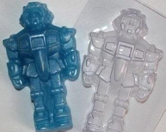 Robot - plastic soap mold soap making soap mould molds soap mold