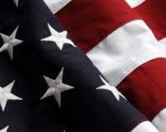 American flag cross stitch pattern, flag pattern, patriotic pattern, USA cross stitch pattern, embroidery pattern, cross stitch pattern