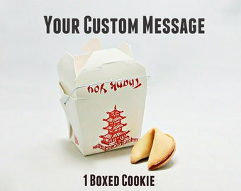 Fortune Cookie, Single Boxed Cookie