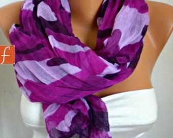 Easter Gift,Purple Camouflage Scarf, Summer Shawl Cowl Scarf Shawl Scarf Lavender Gift Ideas For Her Women Fashion Accessories Teacher Gift