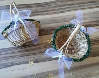 Flower Baskets Wedding Flower Child