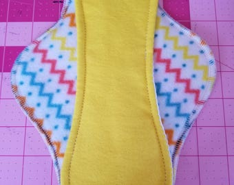 Cloth Pad/11 Inches Long/Moderate Flow