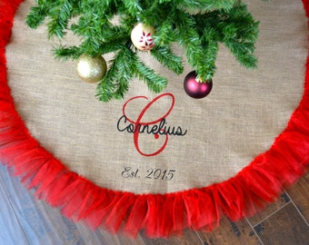 Tulle tree skirt Etsy