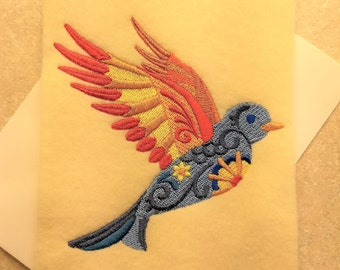 Any Occasion Cards - Flower Power Bird