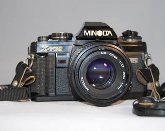 Minolta X-700 35mm film camera