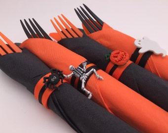 Halloween Flatware: Halloween Theme Flatware, Halloween Tableware, Halloween Decor