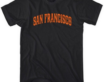 San Francisco T-shirt - Men and Unisex - XS S M L XL 2x 3x 4x - 4 Colors
