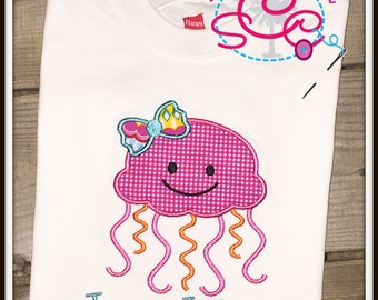 Personalized Jellyfish Shirt/Bodysuit