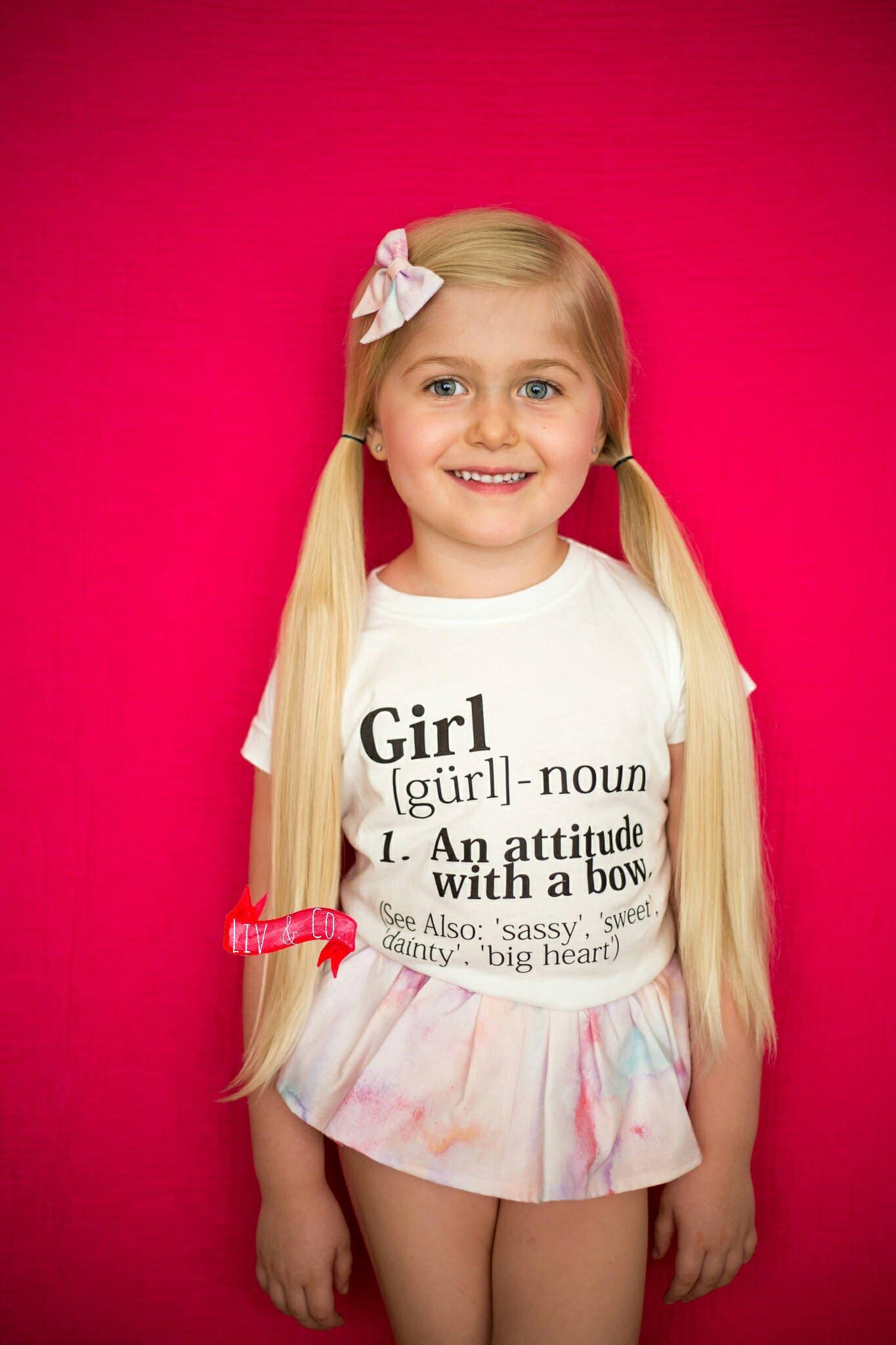 Funny Girls Shirt Girls Clothing Girls Tee Trendy Toddler