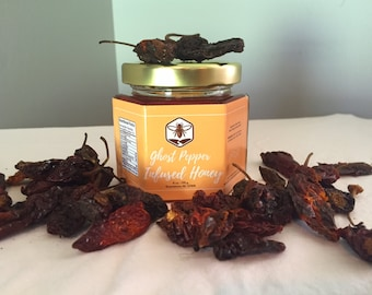Ghost Pepper Infused Honey - HOT!!!