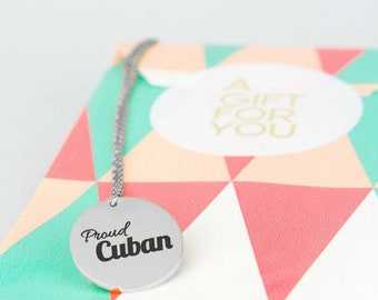 Old Havana Cubano, Cuban Heritage Cuban Chain, Miami Cuban Jewelry, La Gloria Cubana Cuba Necklace, Cuban Product Cuban Chain Necklace