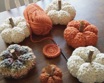 PDF Pattern* Crochet Fairytale Pumpkin Pattern