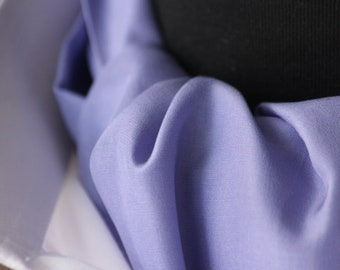 Mens Ascot Mens Cravat Violet Purple Silk Day Cravat Ascot Tie A016