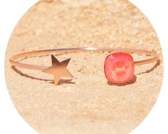 artjany bracelet light coral