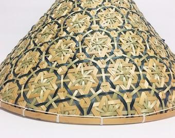 Woven Basket Lid, Wall Decor