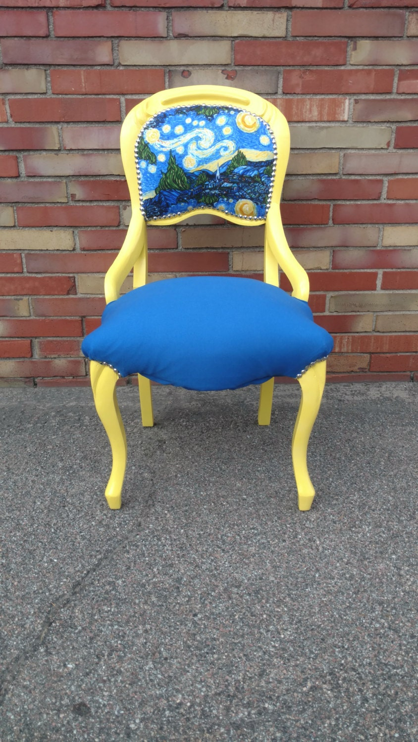 & Van Gogh Starry Night Accent Chair