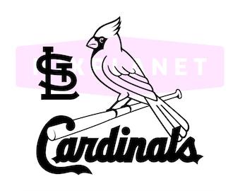 St Louis Cardinals SVG Cut Files, St Louis Cardinals DXF Cutting Files, Saint Louis Cardinals SVG Dxf Png Cuttable Files, Instant Download