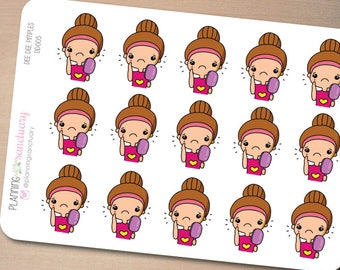 Pimples Planner Stickers Perfect for Erin Condren, Kikki K, Filofax and all other Planners