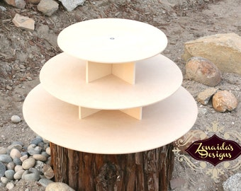 Mannequin Cupcake Stand DIY Large MDF Round Cupcake Display Couture Stand Dessert Stand Birthday Wedding Centerpiece