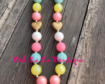 Daddy's Girl Chunky Necklace