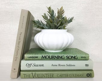 Green Decorative Books