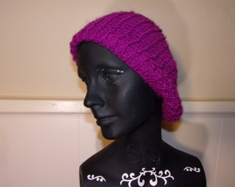 Purple Knit Cap