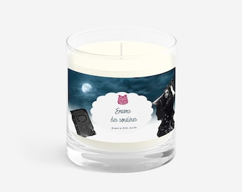 Natural candle wax soy incense