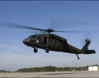 Poster, Many Sizes Available; Uh-60 Black Hawk Helicopter Gulfport Miss